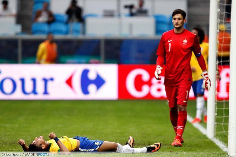 Lloris trop fort pour Neymar...