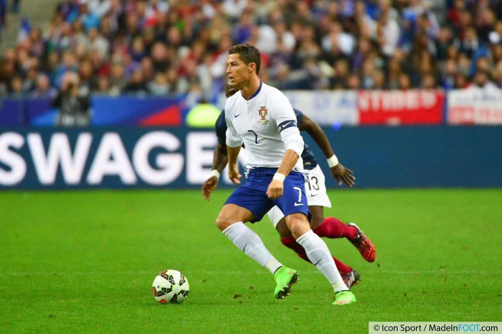 Ronaldo, partenaire de Lopes en sélection