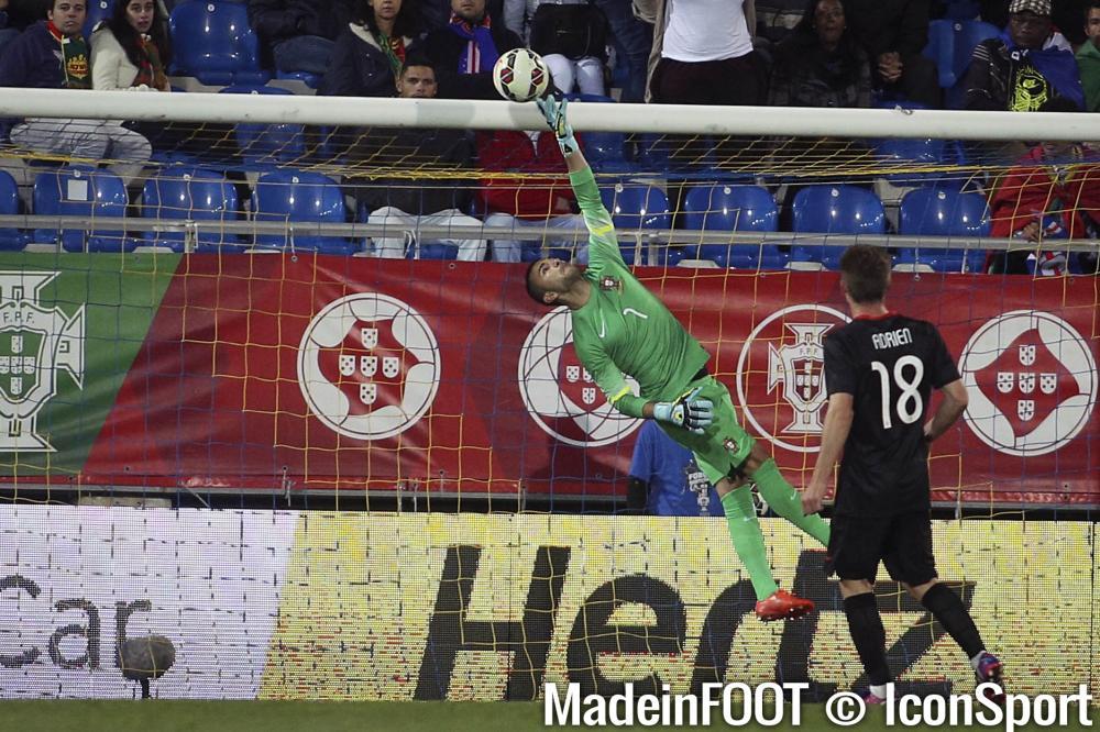Anthony Lopes a vécu une première sélection délicate avec le Portugal