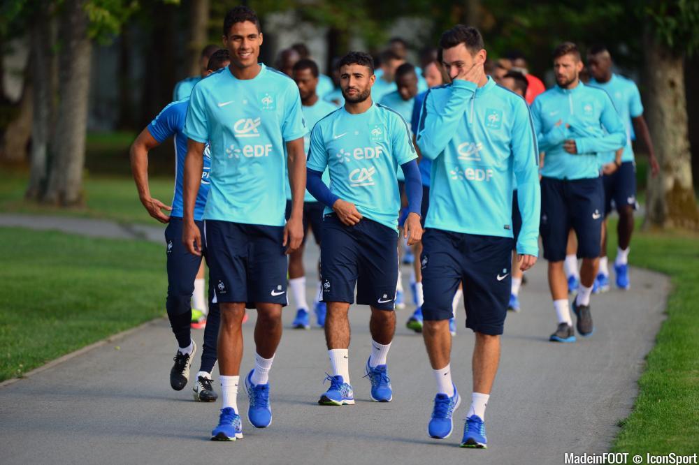Fekir est actuellement en rassemblement avec l'équipe de France.