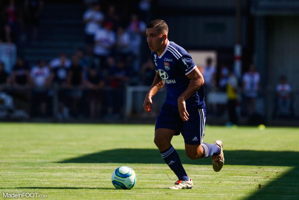 Une passe décisive et un but pour Rayan Cherki.