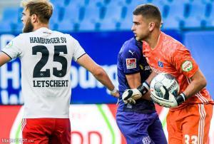 Julian Pollersbeck, ici sous les couleurs du Hambourg SV.