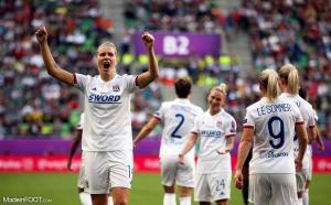 L'Olympique Lyonnais féminin s'est qualifié pour les huitièmes de finale de la Women's Champions League.