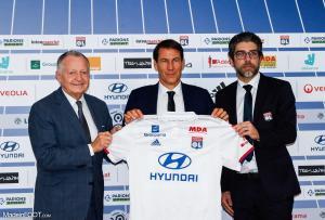 Arrivé sur le banc de l'Olympique Lyonnais en octobre 2019, Rudi Garcia est en fin de contrat en juin prochain