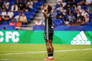 Memphis Depay a ouvert le score d'une panenka face à la Juventus.