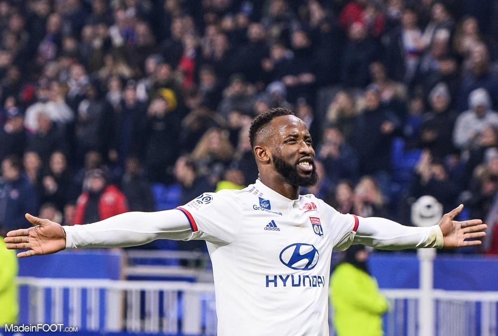 Moussa Dembélé a inscrit 45 buts avec l'OL.