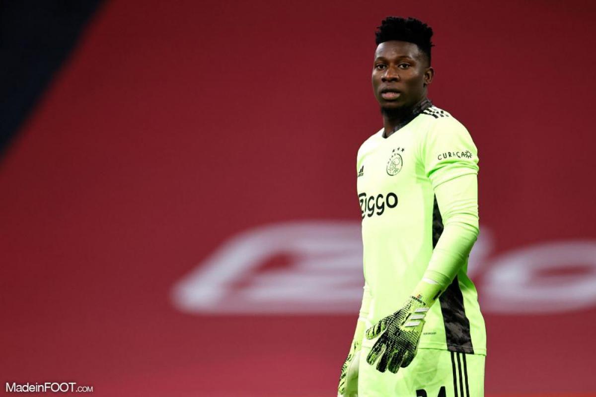 Andre Onana, le gardien de l'Ajax Amsterdam