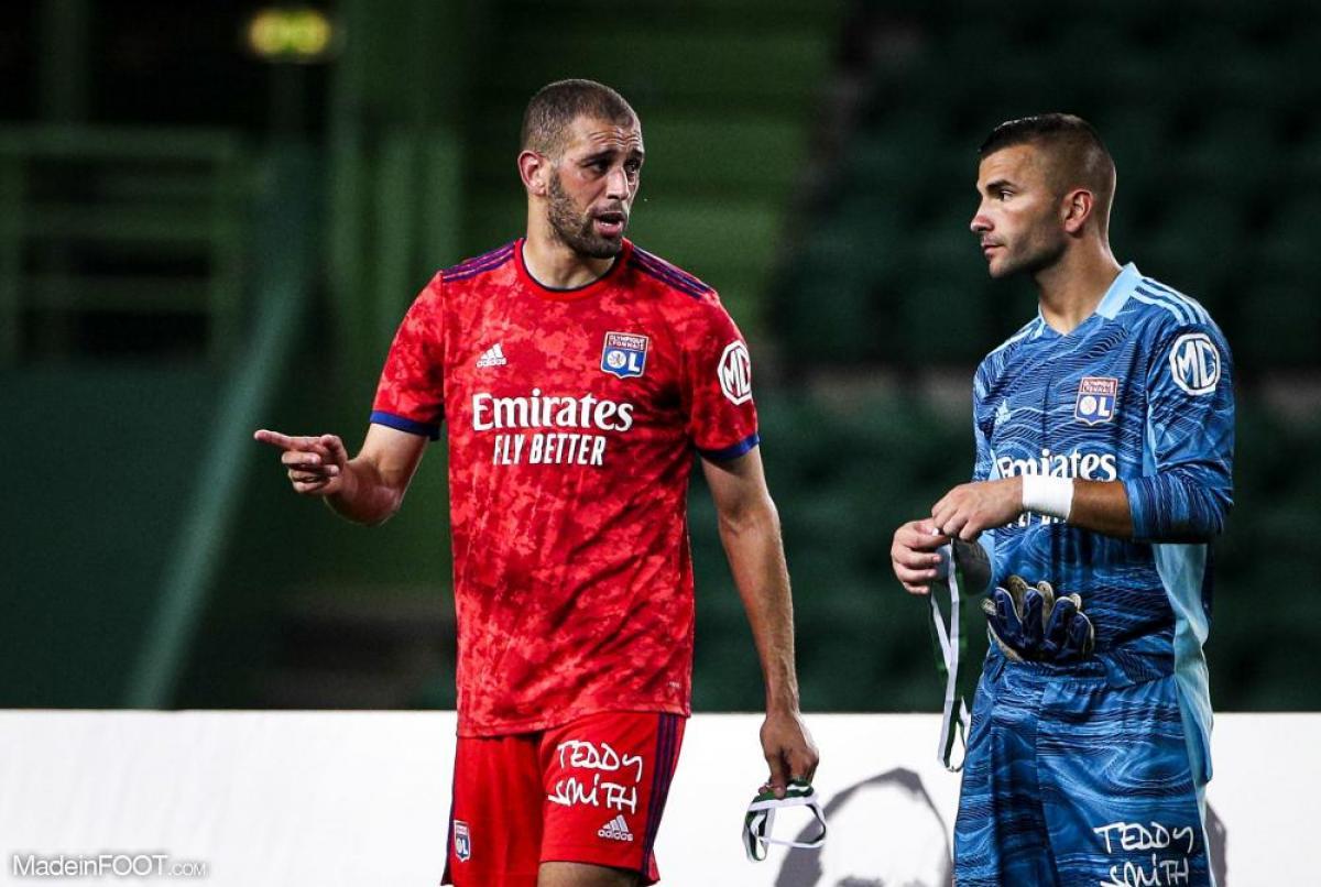 Anthony Lopez titulaire avec l'OL contre le FC Porto