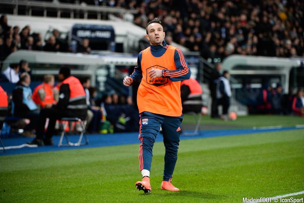 Mathieu Valbuena sera-t-il présent sur la pelouse au coup d'envoi ?