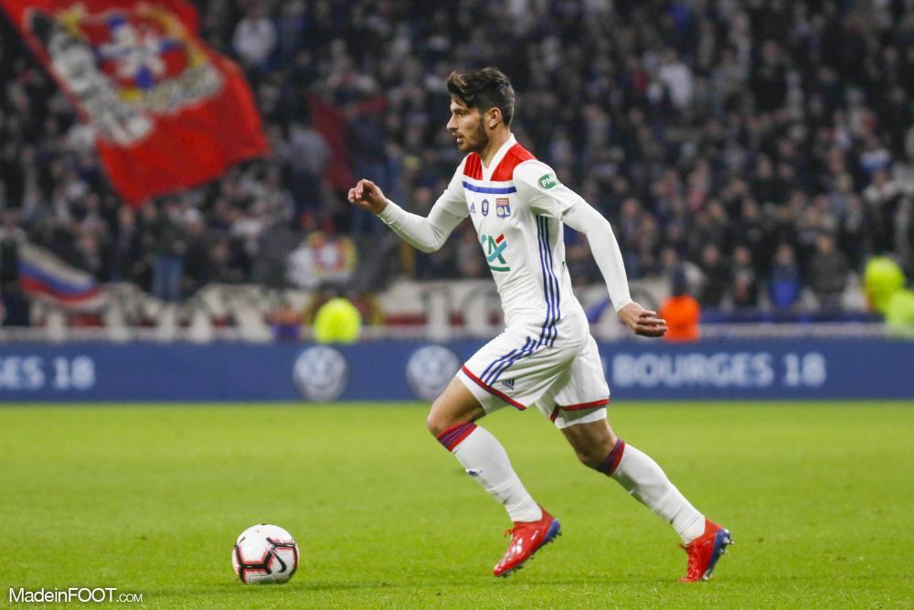 Martin Terrier, l'attaquant de l'Olympique Lyonnais.