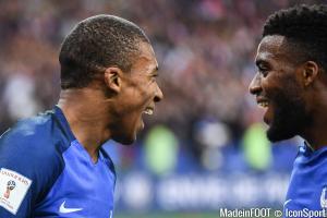 Mbappé et Lemar seront alignés contre le Luxembourg