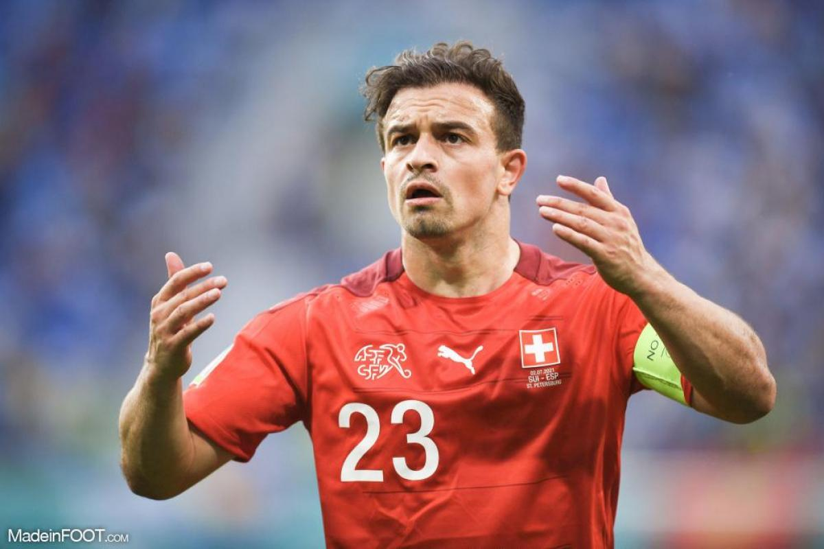 Xherdan Shaqiri titulaire avec la Suisse ce samedi