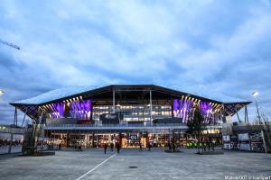 Le Parc OL avait subi des dégradations lors de la dernière finale de l'Europa League.