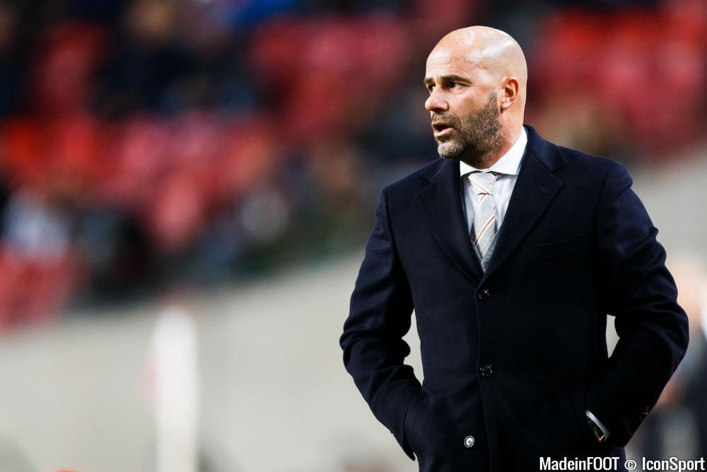 Peter Bosz, l'entraîneur de l'Ajax, a bien préparé la réception de l'OL, mercredi soir.