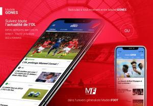 Mobile - Suivez toute l'actualité de l'OL sur votre smartphone !