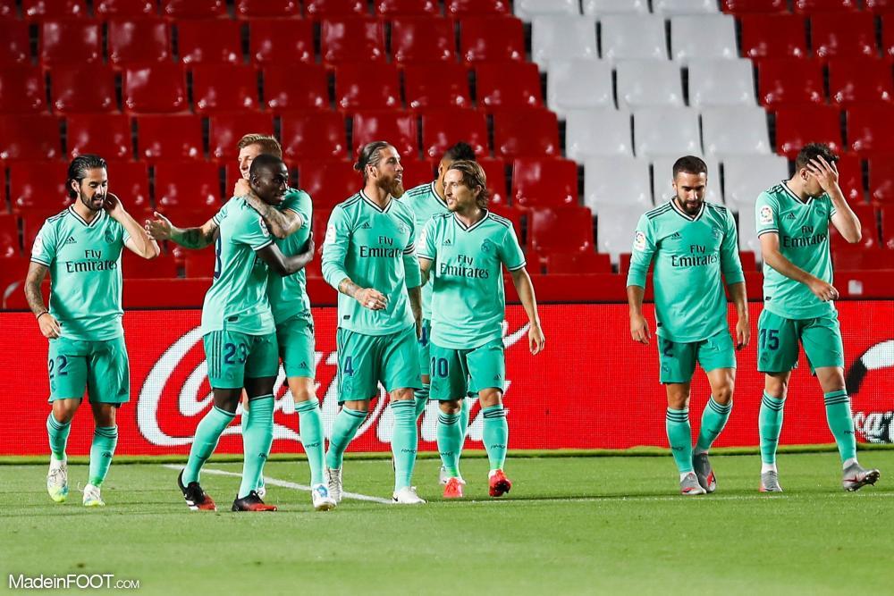 Le Real Madrid s'est imposé sur la pelouse de Grenade (1-2), ce lundi soir en Liga.