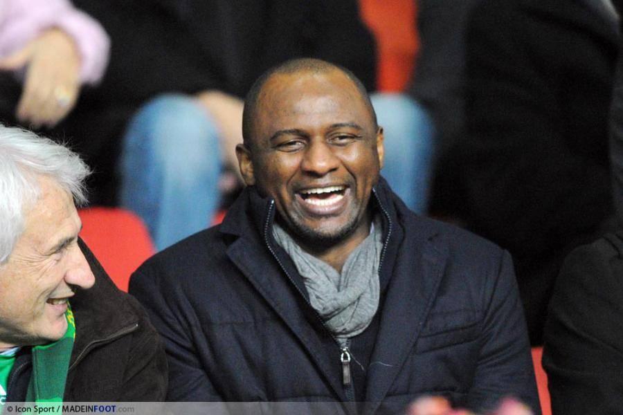 Patrick Vieira pourait devenir l'entraîneur des Magpies la saison prochaine.