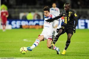 Clement GRENIER / Idrissa Gana GUEYE - 10.02.2013 - Lyon / Lille - 26eme journee de Ligue 1 -