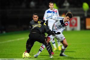 Clement GRENIER - 10.02.2013 - Lyon / Lille - 26eme journee de Ligue 1 -
