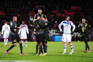 Joie Lille - 10.02.2013 - Lyon / Lille - 26eme journee de Ligue 1 -