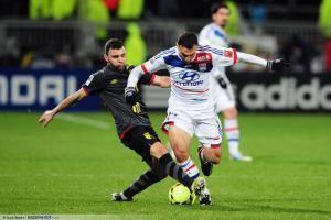 Marvin MARTIN / Steed MALBRANQUE - 10.02.2013 - Lyon / Lille - 26eme journee de Ligue 1 -