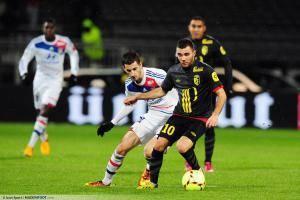 Maxime GONALONS / Marvin MARTIN - 10.02.2013 - Lyon / Lille - 26eme journee de Ligue 1 -