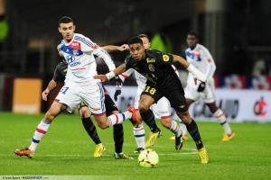 Rachid GHEZZAL / Franck BERIA - 10.02.2013 - Lyon / Lille - 26eme journee de Ligue 1 -