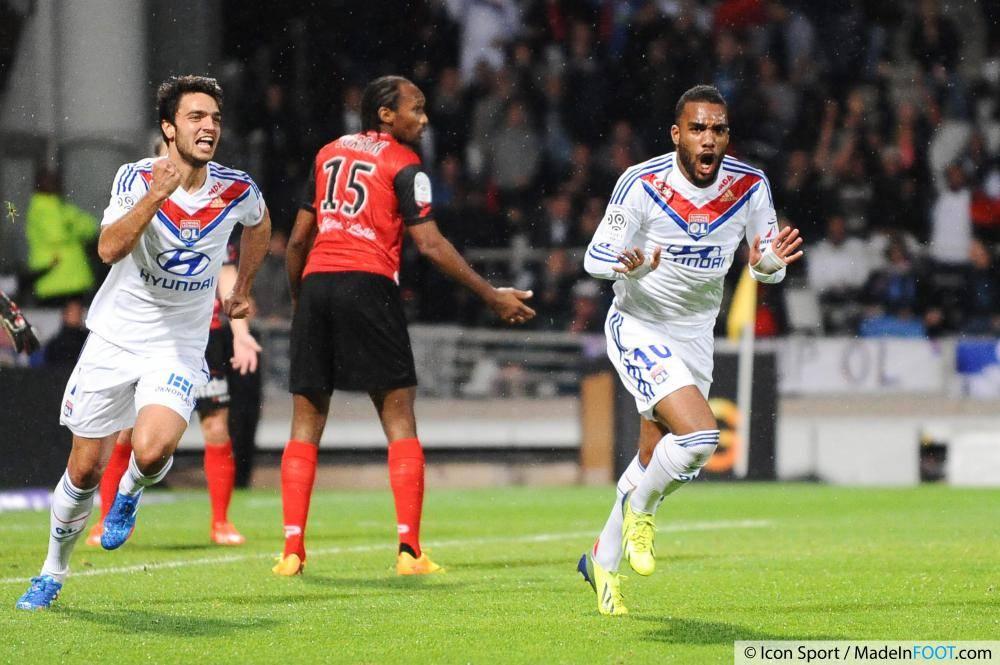 La compilation des réalisations inscrites par l'Olympique Lyonnais lors de la saison 2013-2014