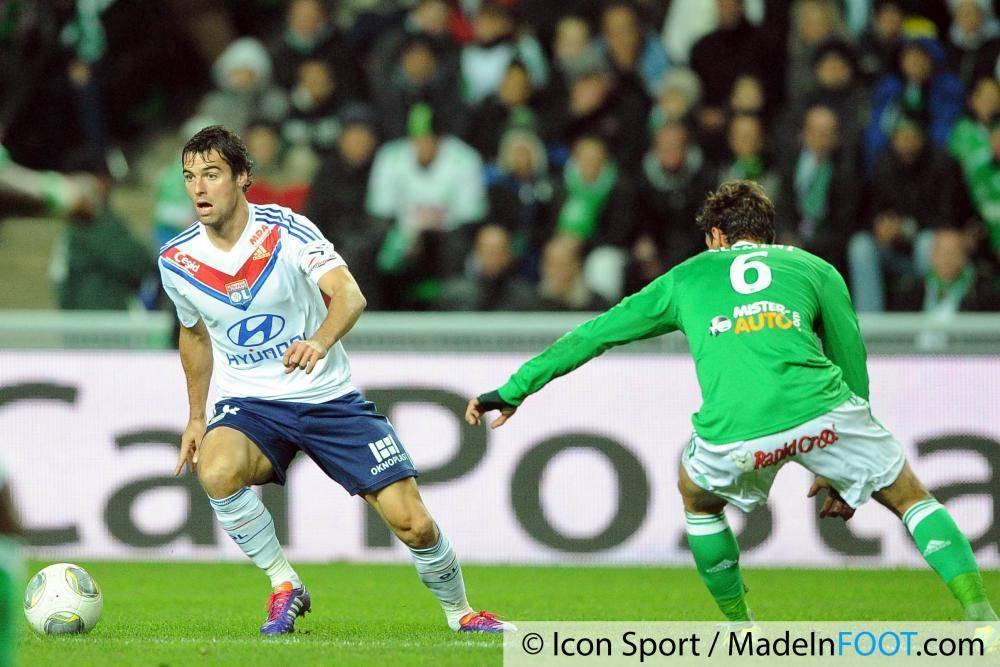 Yoann Gourcuff (OL) n'est pas sur les tablettes des Verts selon Caïazzo.
