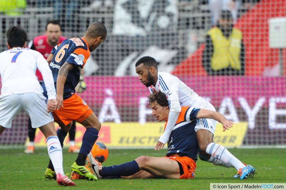 L'Olympique Lyonnais et le Montpellier HSC se sont neutralisés