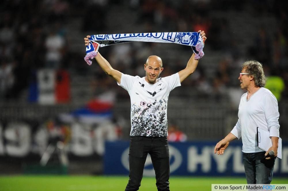 Christophe Jallet est arrivé à l'été 2014 à Lyon.
