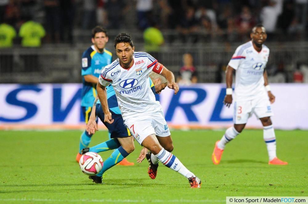 Grenier est toujours à l'Olympique Lyonnais malgré de nombreuses sollicitations