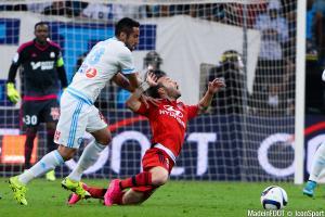 Mathieu Valbuena, ici sous les couleurs de l'Olympique Lyonnais.