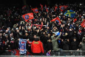 Certains supporters parisiens ont dégradé le Parc OL