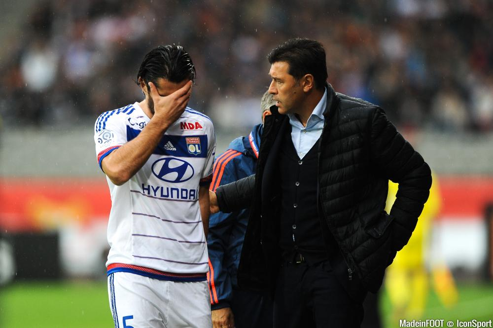 Milan Bisevac a dû laisser ses partenaires contre Reims.