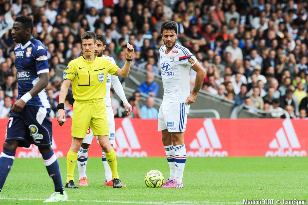 Clément Grenier, ici sous les couleurs de l'Olympique Lyonnais.