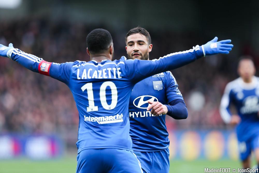 Fekir et Lacazette se retrouveront la saison prochaine, au Stade des Lumières.