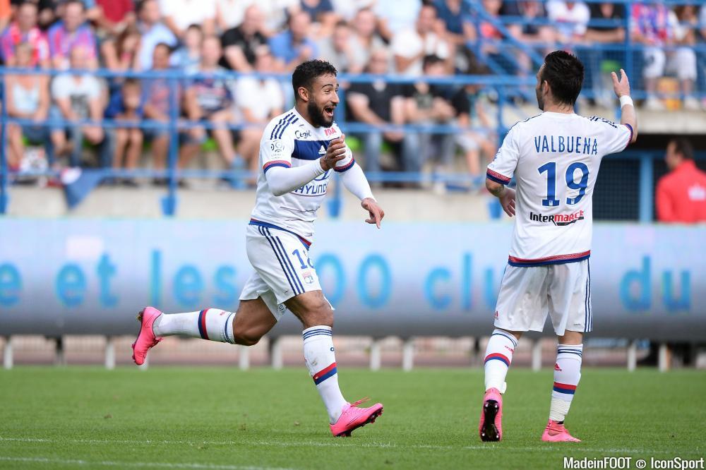 Fekir et Valbuena devraient commencer sur le banc à Montpellier.