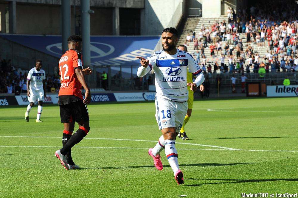 Nabil Fekir (OL) a rejoué après plus de six mois d'absence.