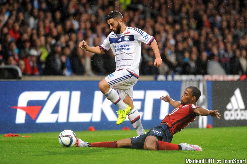 Jordan Ferri (OL) a réalisé une belle prestation face au Stade de Reims (1-0), hier en fin d'après-midi.