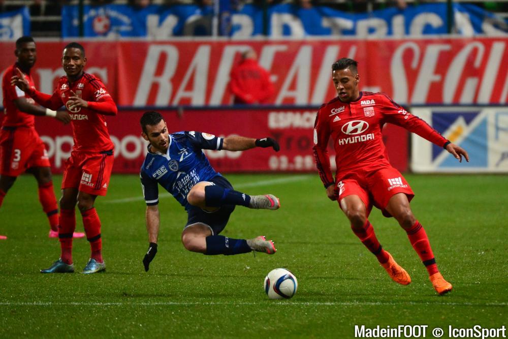 Les compos officielles du match entre l'OL et l'ESTAC Troyes.
