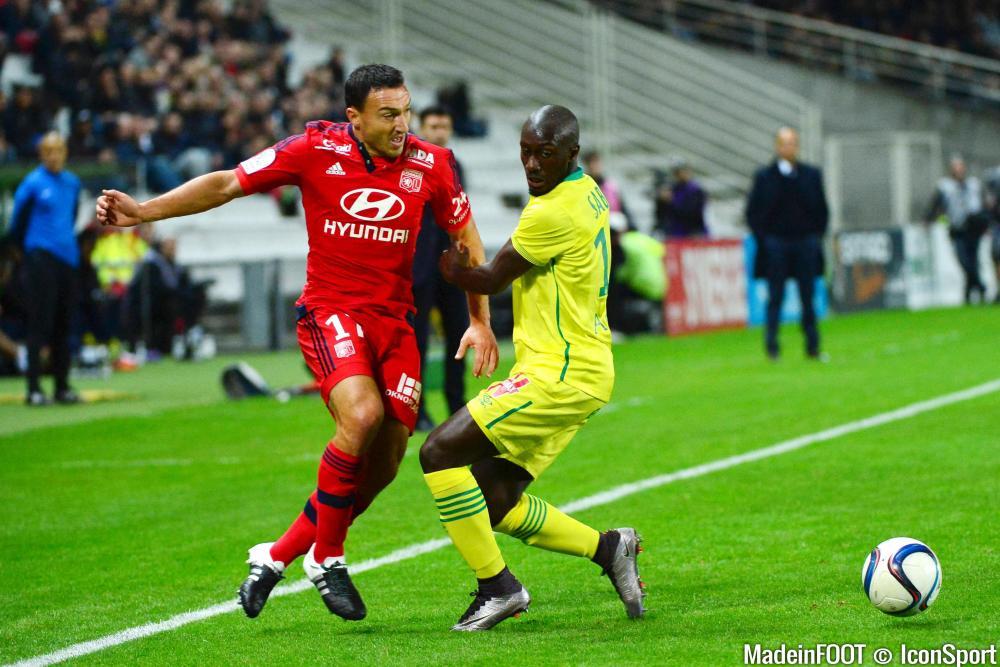 Nantes et Lyon se sont séparés sur un score nul et vierge, mardi soir (0-0)