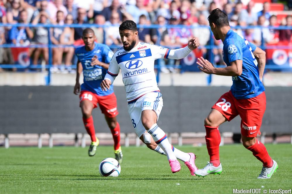 Nabil Fekir a brillé de mille feux, le week-end dernier, à Caen.