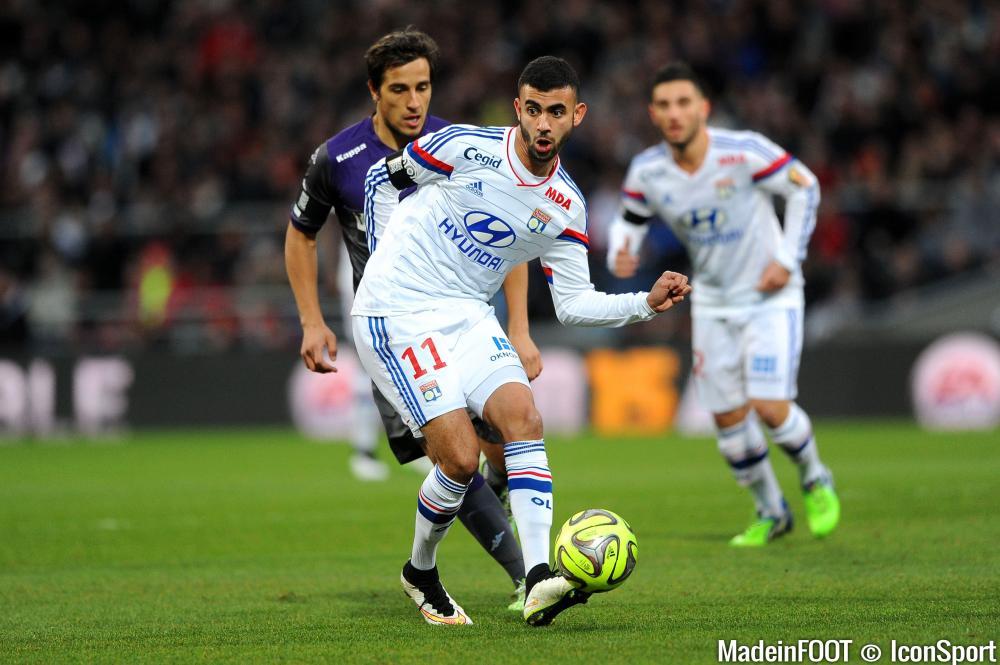 Rachid Ghezzal débutera la rencontre, ce dimanche, face à Limoges en Coupe de France