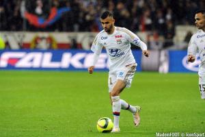 Rachid Ghezzal est sous contrat avec l'OL jusqu'en 2017.