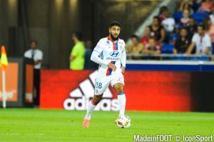 Nabil Fekir (OL) sera éloigné des terrains une quinzaine de jours.