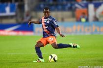 Mamadou Ndiaye  - 02.02.2016 - Montpellier / Marseille - 24e journee de Ligue 1