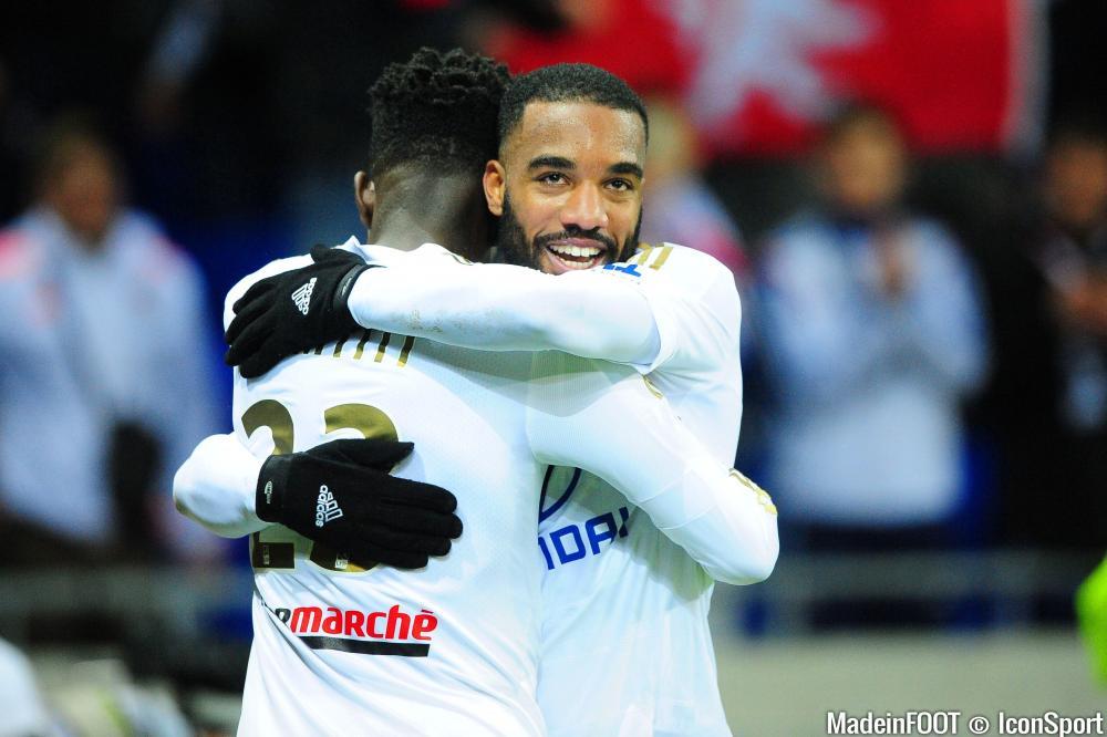 Alexandre Lacazette (OL) a retrouvé l'efficacité face à Bordeaux, mercredi soir.
