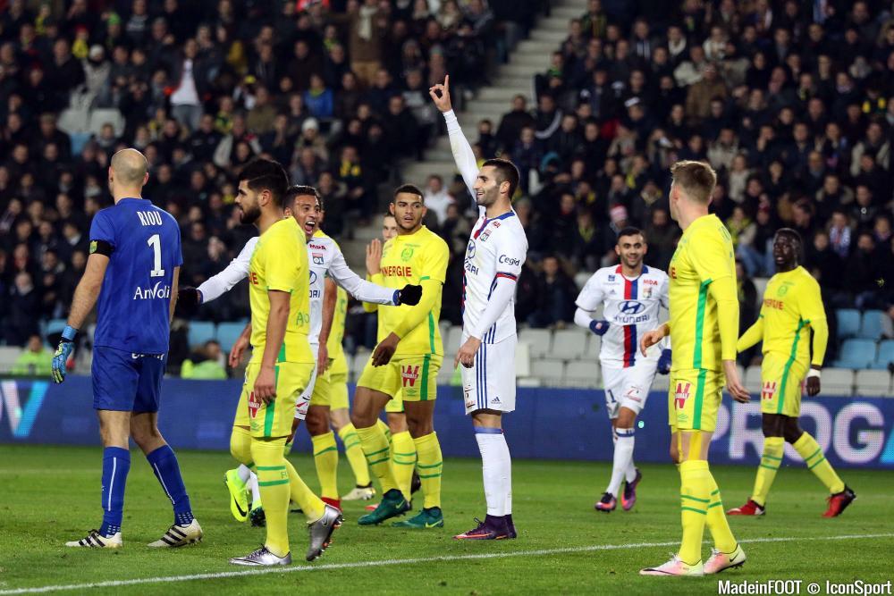 Mercredi soir, l'OL a étrillé Nantes à la Beaujoire (6-0)