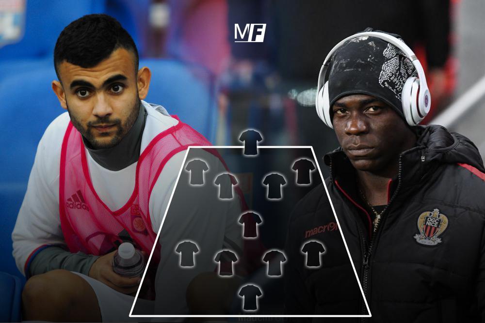 L'équipe-type des joueurs en fin de contrat en Ligue 1...